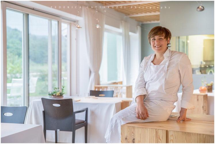Chef Antonia Klugmann del ristorante L'Argine di Vencò - Dolegna del Collio